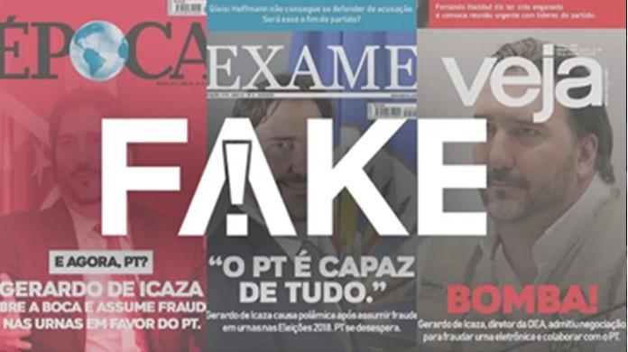 Nas Oea Capas É Fraudes De Com Publicaram Ou Que G1 Sobre Da Urnas Diretor Fake Revistas Fato fake Declarações
