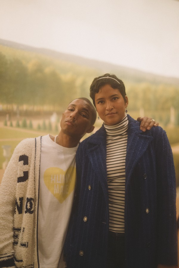 Pharrell Williams e Helen Williams (Foto: Divulgação)