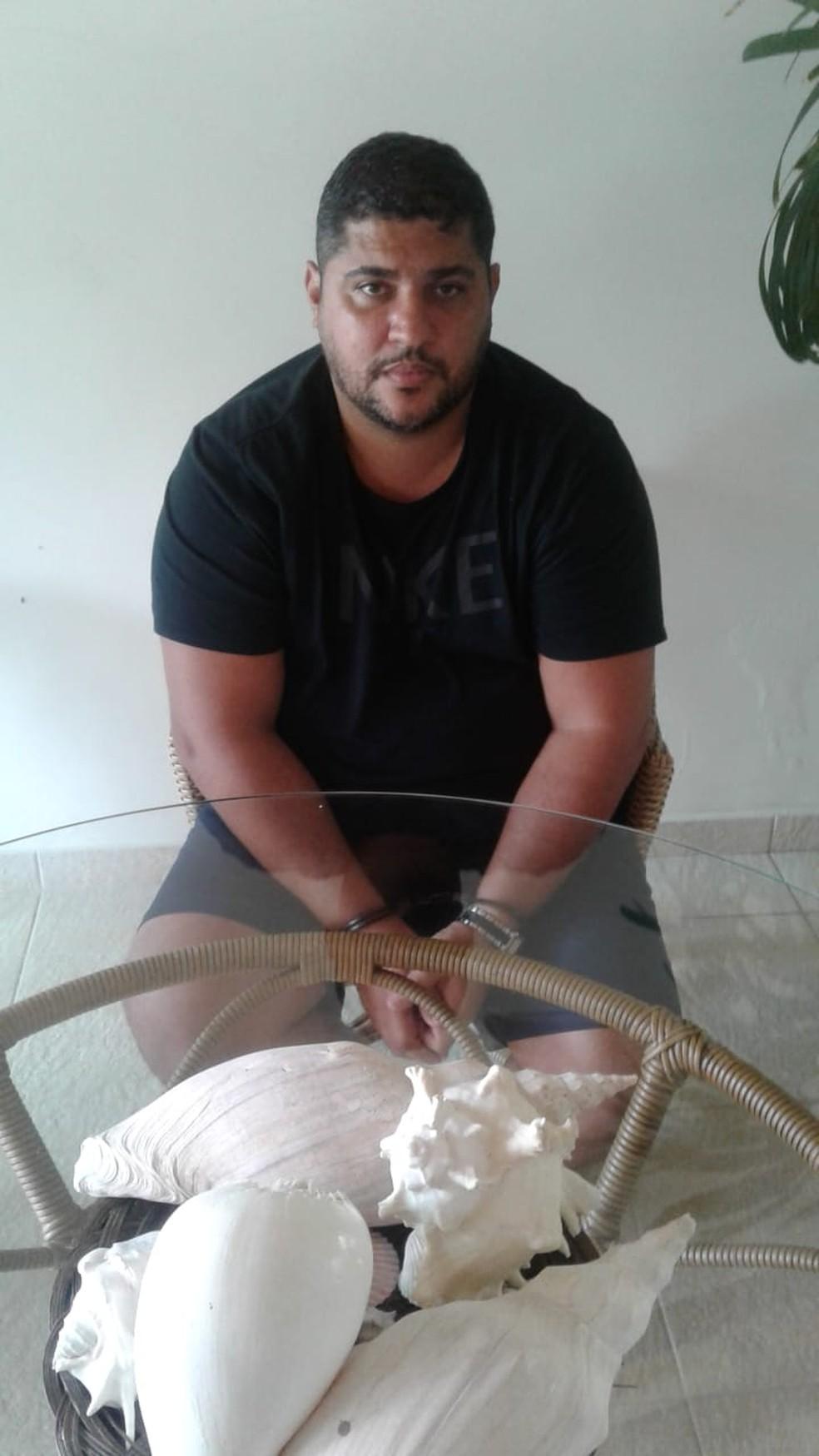 Traficante internacional é preso em Angra dos Reis — Foto: Divulgação