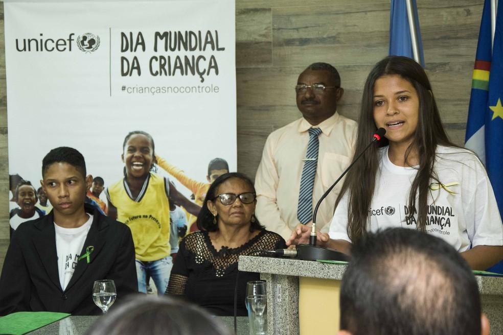 Os adolescentes foram empossados na Câmara de Vereadores de Orocó (PE). (Foto: Divulgação)