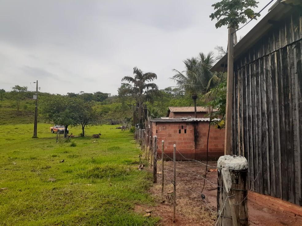 Bombeiros fizeram buscas por idoso de 84 anos é procurado por militares do Corpo de Bombeiros na zona rural de Alto Taquari, a 509 km de Cuiabá — Foto: Corpo de Bombeiros de Mato Grosso/Assessoria