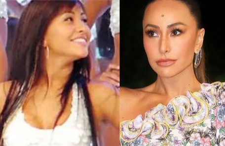 """Sabrina Sato estreou na TV como bailarina do """"Domingão do Faustão"""": """"Lembro que não decorava as coreografias direito. Eu era muito atrapalhada"""" Reprodução"""