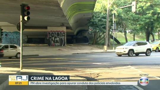 PM vai investigar conduta de policiais em caso de esfaqueados na Lagoa