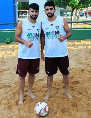 Dupla Rian Almeida e Washington Luiz (Foto: Imagem/Tércio Neto)