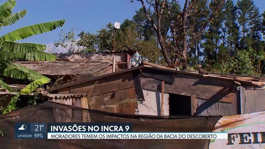 Moradores denunciam o avanço das invasões ao redor da Bacia do Descoberto