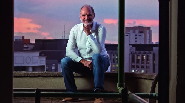 Carlos Eli Ribeiro, fundador da Sollis. Uma das soluções da empresa é a digitalização de receitas médicas (Foto: Helena Wolfenson)
