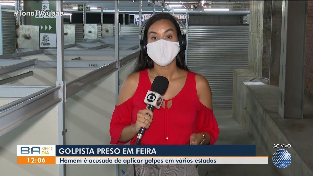 Homem suspeito de aplicar golpes em diversas cidades do Brasil é preso em Feira de Santana