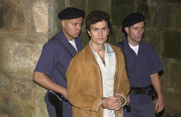 O ator fez uma participação em 'Senhora do destino' como Dirceu (José Mayer) jovem (Foto: Gianne Carvalho/ TV Globo)