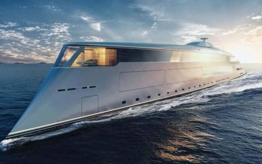 Conheça o iate futurista de luxo que custa quase R$ 3 bilhões