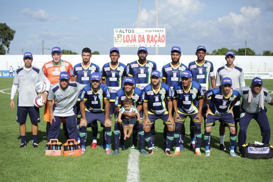 Nos bastidores, Altos inicia contatos de reforços para time na Série D do Brasileiro