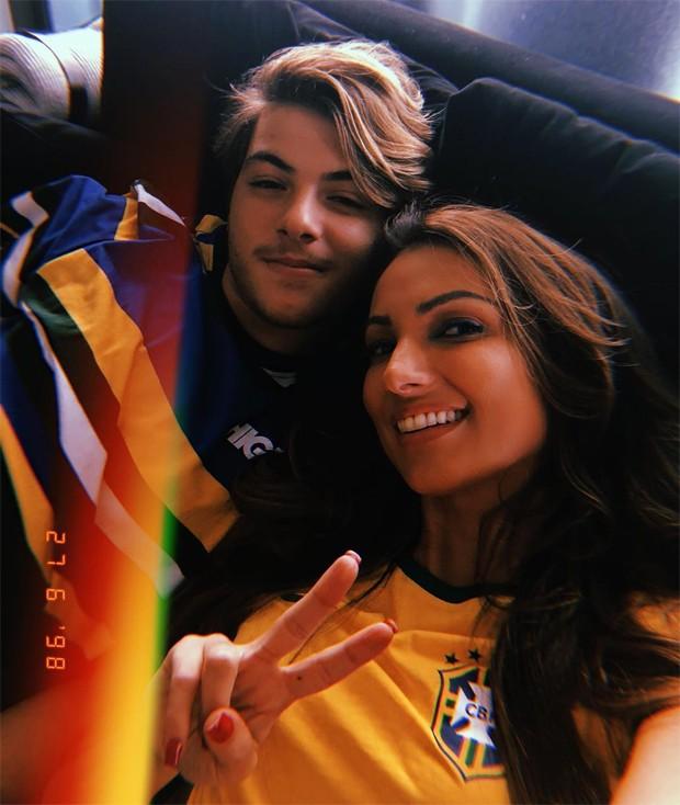 Patricia Poeta e o filho (Foto: Reprodução/Instagram)
