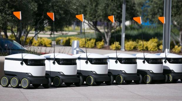 Bots são equipados com radar, câmera e GPS (Foto: Divulgação)