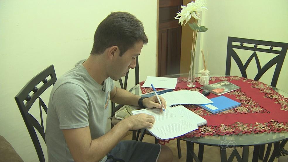Rodrigo Ítalo deve assinar com Nacional-AM (Foto: Reprodução/TV Amazonas)