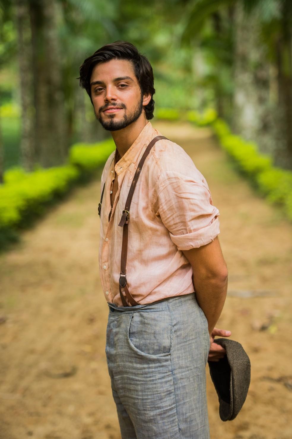 Rodrigo Simas será Ernesto em 'Orgulho e Paixão' (Foto: João Miguel Júnior/Gshow)