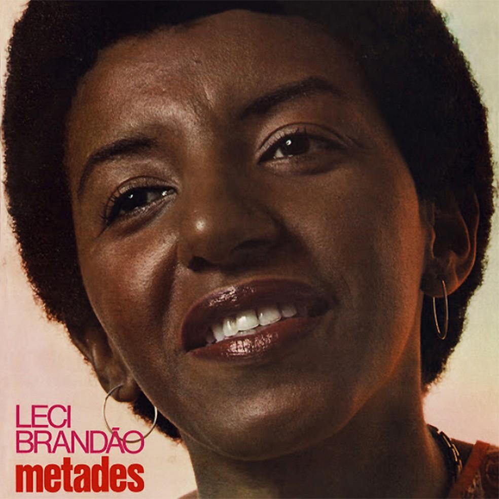 Capa do álbum 'Metades', de Leci Brandão — Foto: Januário Garcia