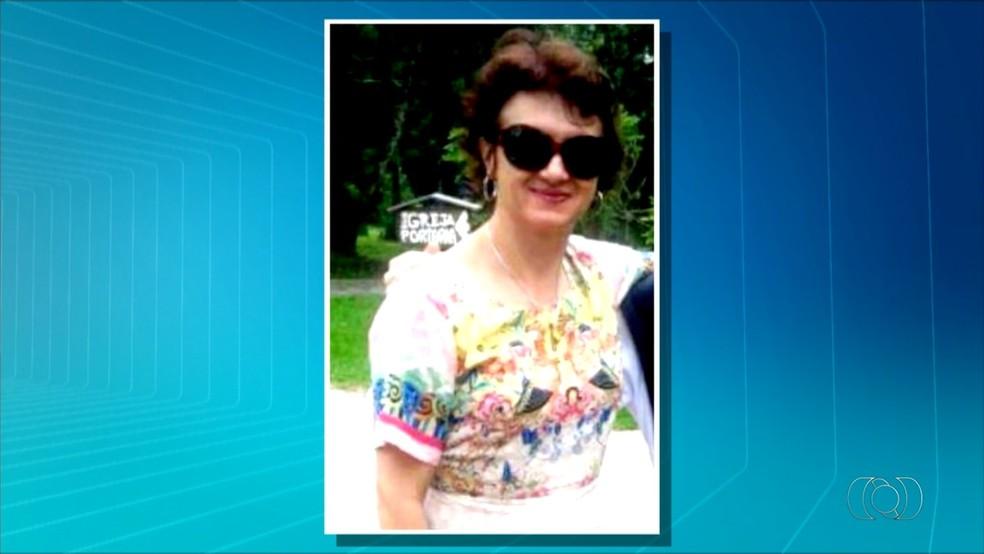 Professora Danielle foi encontrada morta (Foto: Reprodução/TV Anhanguera)