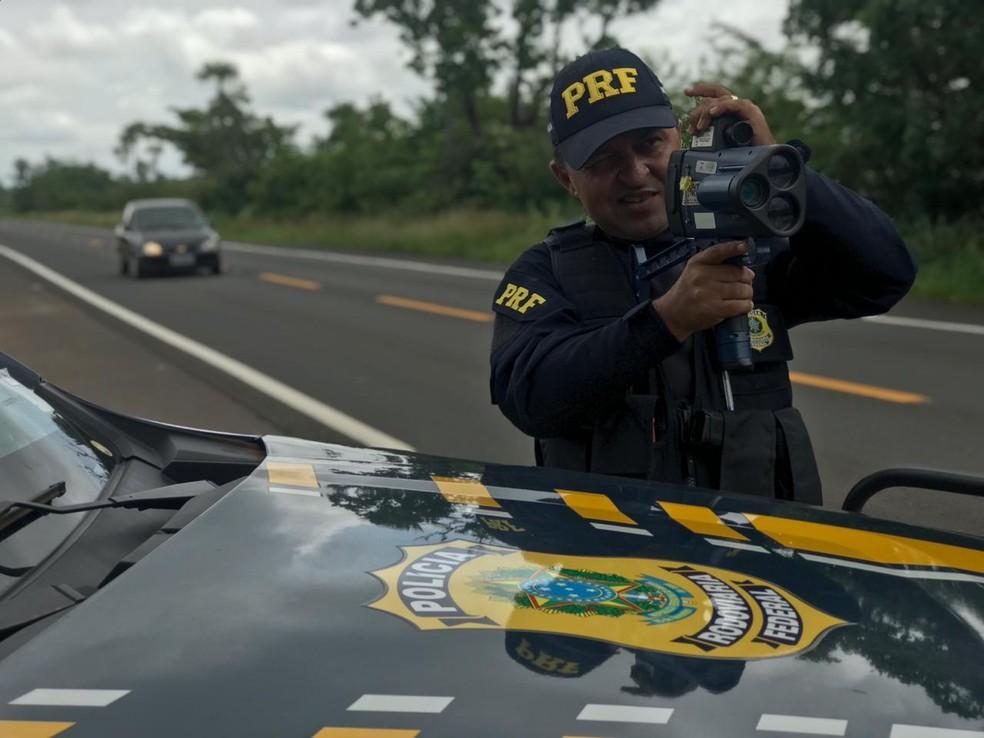 Excesso de velocidade é a infração mais cometida pelos condutores — Foto: Divulgação/PRF