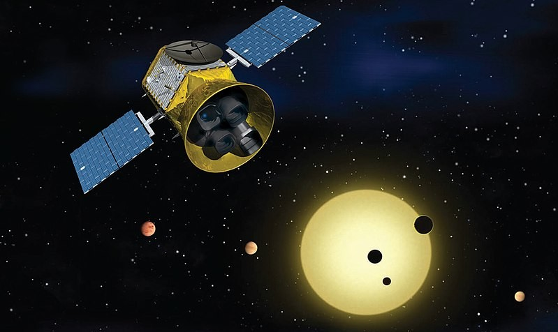 Telescópio TESS (Foto: NASA/Wikimedia Commons)