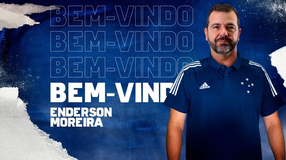 Cruzeiro Oficializa A Contratacao Do Tecnico Enderson Moreira Cruzeiro Ge
