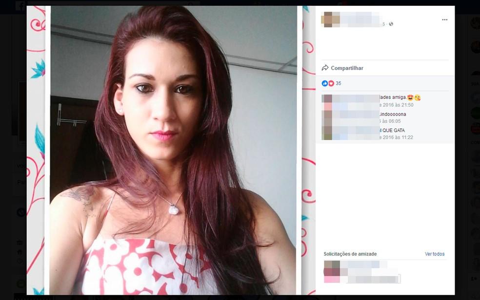 Marília Andrade foi encontrada morta com sinais de abuso sexual em Salvador (Foto: Reprodução/Facebook)