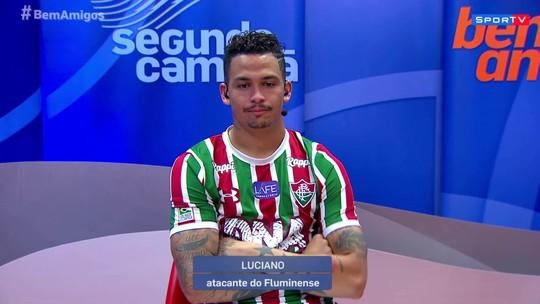 """Luciano repudia gritos de """"sem vergonha"""" da torcida do Fluminense: """"Aqui tem pai de família"""""""
