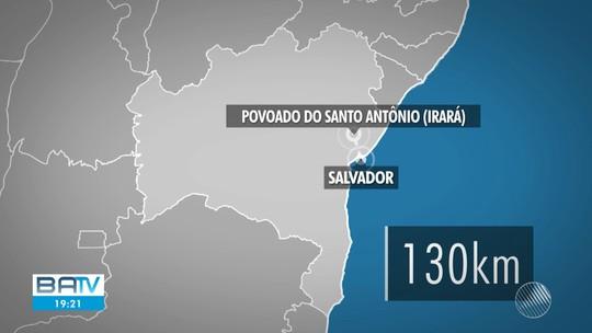 Quatro primos são vítimas de chacina em povoado na Bahia