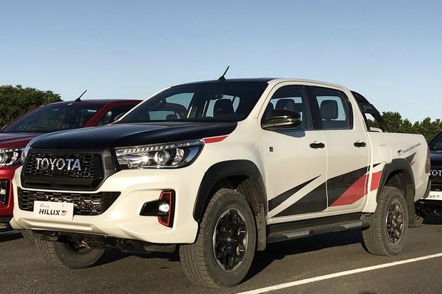 Toyota Hilux GRS 2019 (Foto: Diogo de Oliveira/Autoesporte)