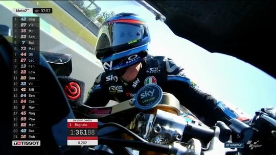 Francesco Bagnaia conquista pole do grande prêmio de Le Mains da Moto2