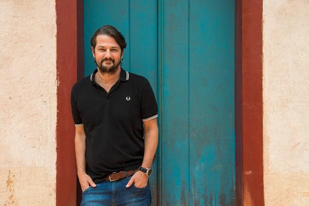 Marcelo Serrado vive Nicolau em O Sétimo Guardião  (Foto: Estevam Avellar/ Ed. Globo)