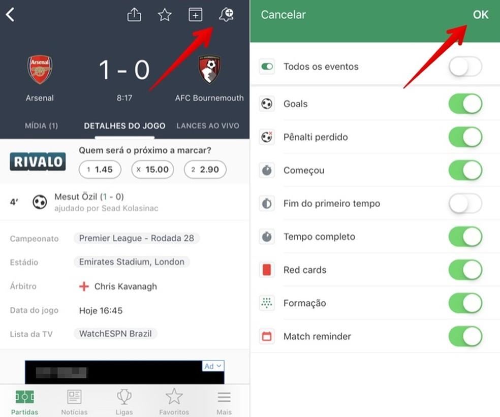 Como Ver Resultados De Jogos De Futebol Ao Vivo No Aplicativo Fotmob Apps Techtudo