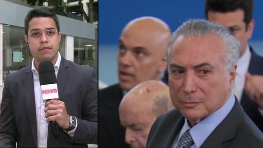 MPF pede que seja cassada autorização para viagem de Michel Temer