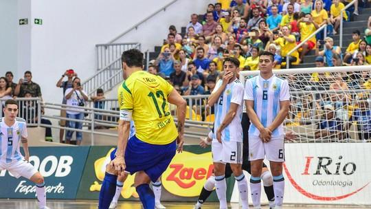 3070c62281570 Desafio das Américas  Porto Velho recebe clássico Brasil e Argentina ...