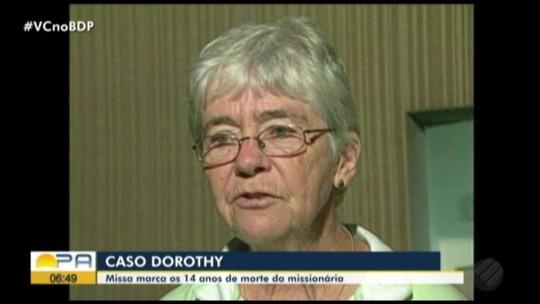Missa lembra os 14 anos do assassinato da irmã Dorothy Stang em Anapu