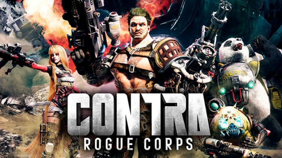 Contra Rogue Corps traz o clássico de volta — Foto: Divulgação / Konami