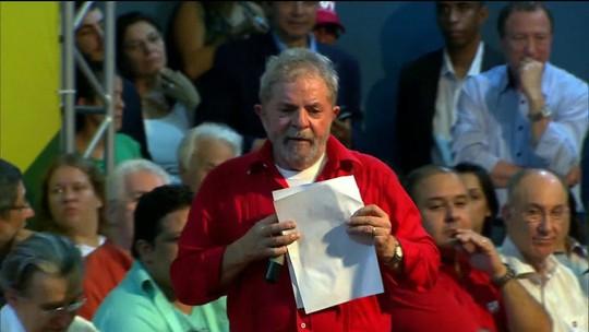 Lula é denunciado pela 1ª vez na Lava-Jato em São Paulo