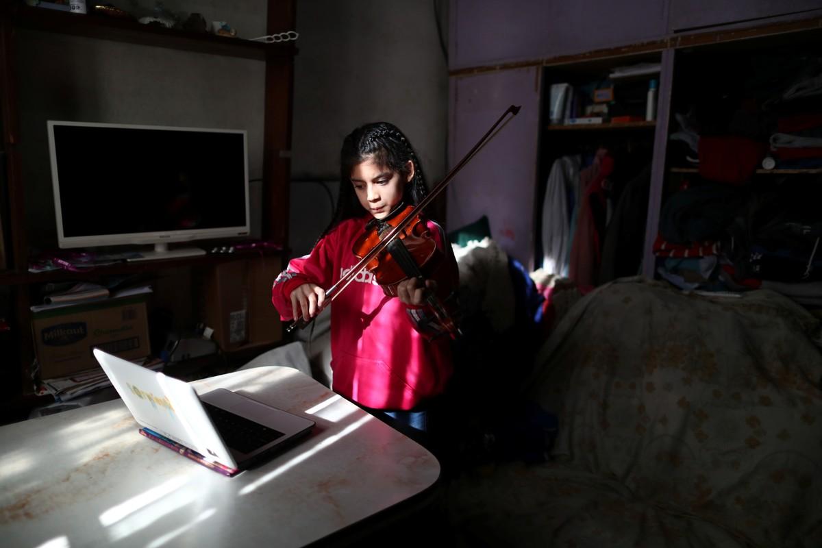 Orquestras infantis argentinas fazem ensaios virtuais durante quarentena | Pop & Arte