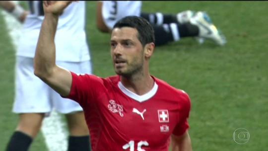 Suíça empata com Costa Rica e fica com o segundo lugar no Grupo E