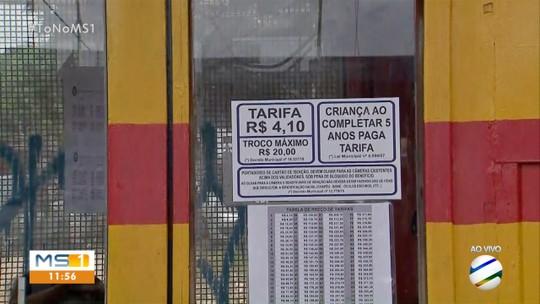 Passagem de ônibus na Capital segue a R$ 4,10 mesmo após decisão do TCE