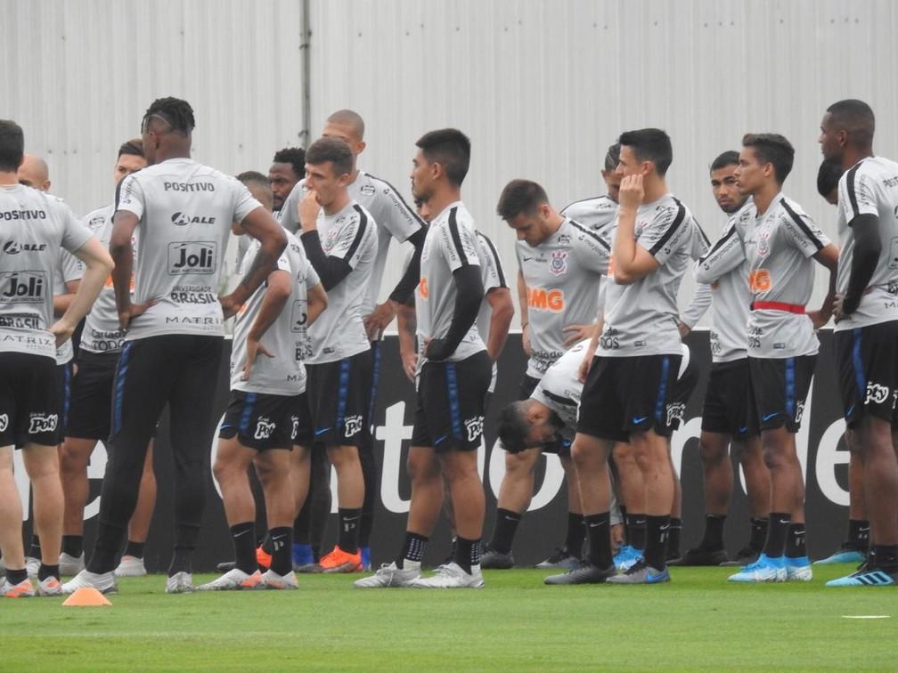 Treino Corinthians — Foto: Marcelo Braga