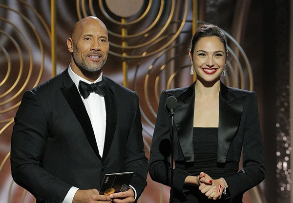 Gal Gadot e Dwayne Johnson (Foto: Getty Images)