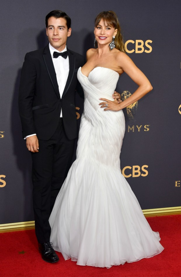 Sofia Vergara e Manolo Gonzales Vergara (Foto: Getty)