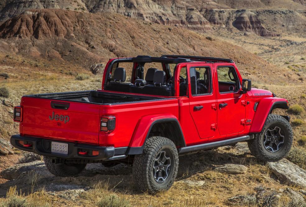 Jeep Gladiator — Foto: Divulgação/Jeep