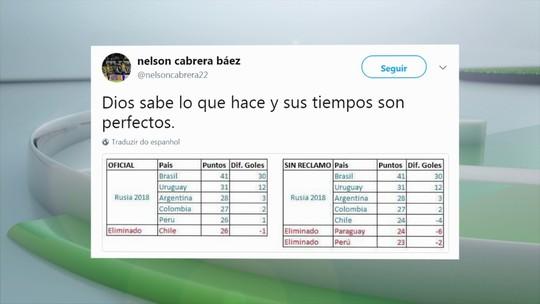 Alvo de denúncia, zagueiro boliviano ironiza o Chile após eliminação