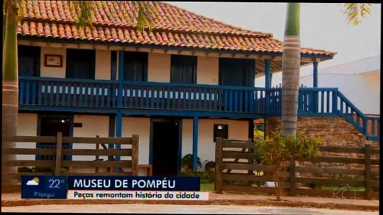 Museu de Pompéu resgata história de Dona Joaquina