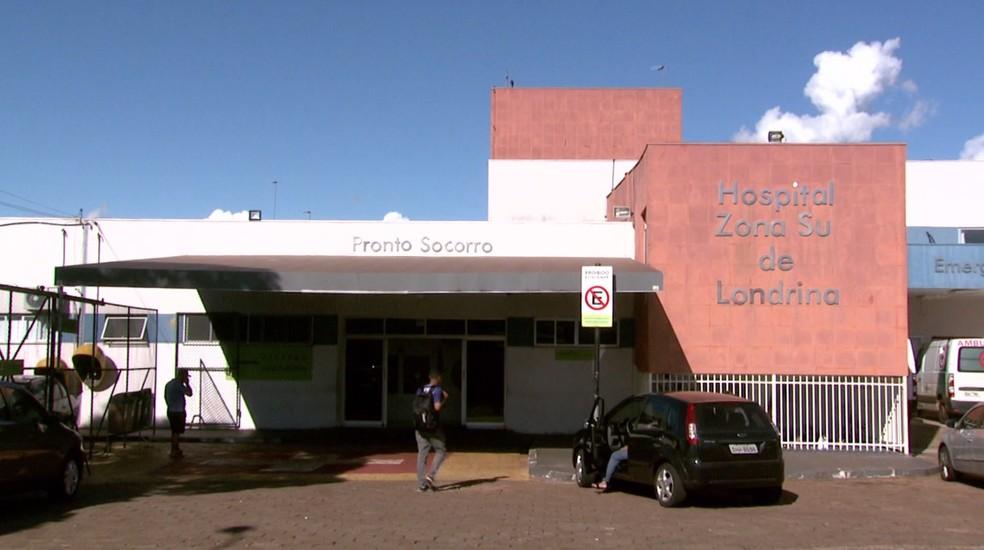 Hospital da Zona Sul de Londrina registrou mortes por Covid-19 de funcionários que se recusaram a tomar vacina — Foto: Reprodução/RPC