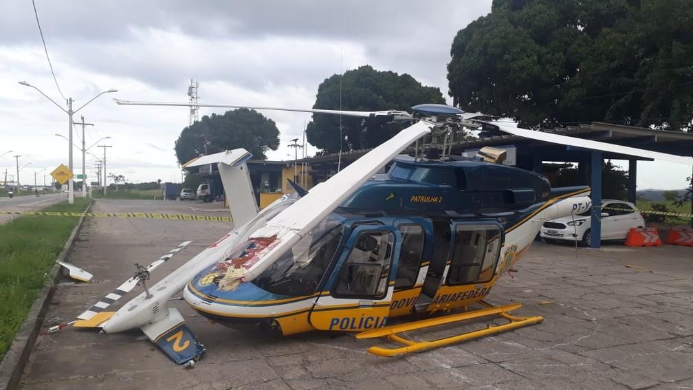 Caso aconteceu na tarde desta terça-feira (20), na BR-101 — Foto: Taísa Moura/TV Santa Cruz