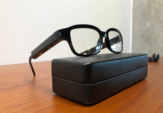 Os novos óculos da Amazon, Echo Frames (Foto: Reuters)