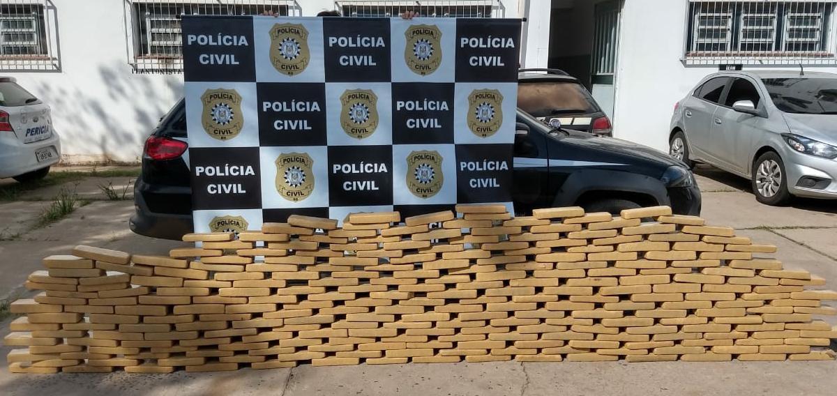 Polícia prende homem com 185 kg de maconha em Uruguaiana