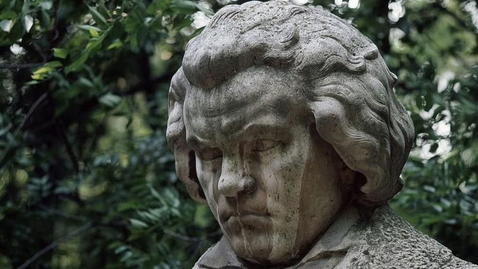 O compositor teve inumeráveis problemas de saúde. — Foto: GETTY IMAGES