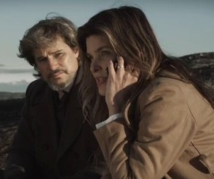 Edson Celulari e Cristiana Oliveira em cena de 'Aninal' | Reprodução